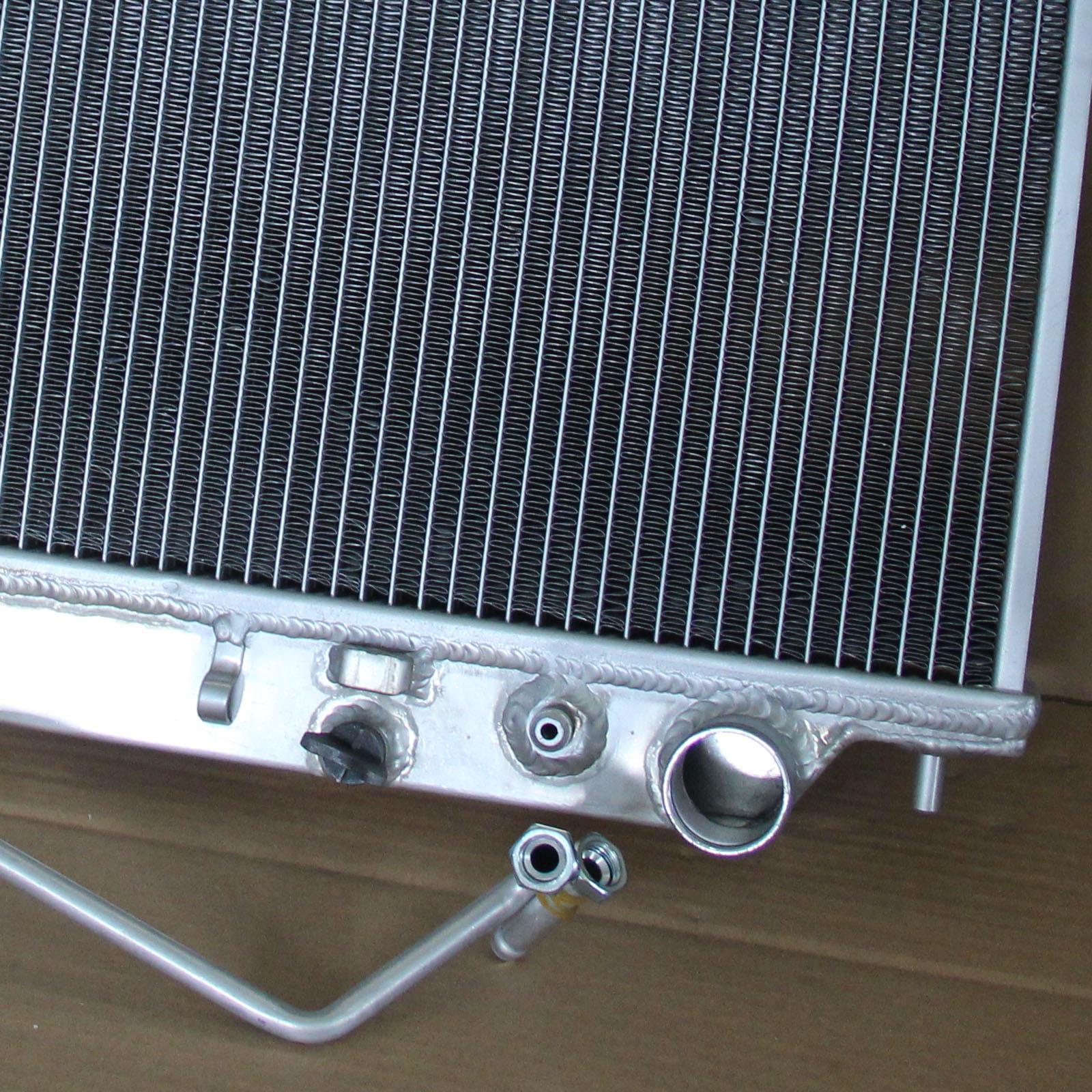 2Row Aluminum Radiator For 1998-2004 Isuzu Rodeo Sport Amigo 3.2L V6