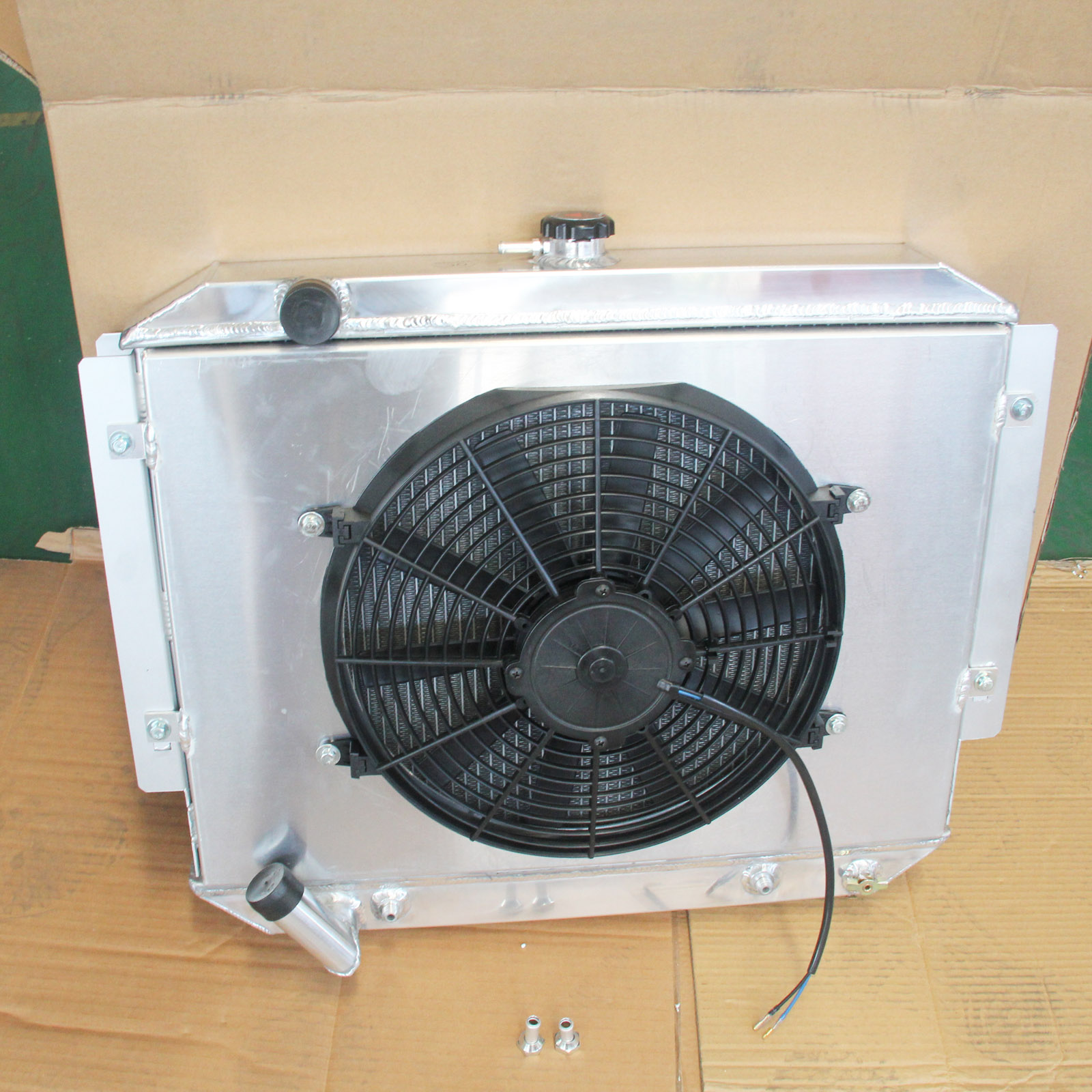 Aluminum Radiator Fan Shroud For Mitsubishi Pajero Nh Nj Nk 30l Thermostat 3 0l V6 Petrol