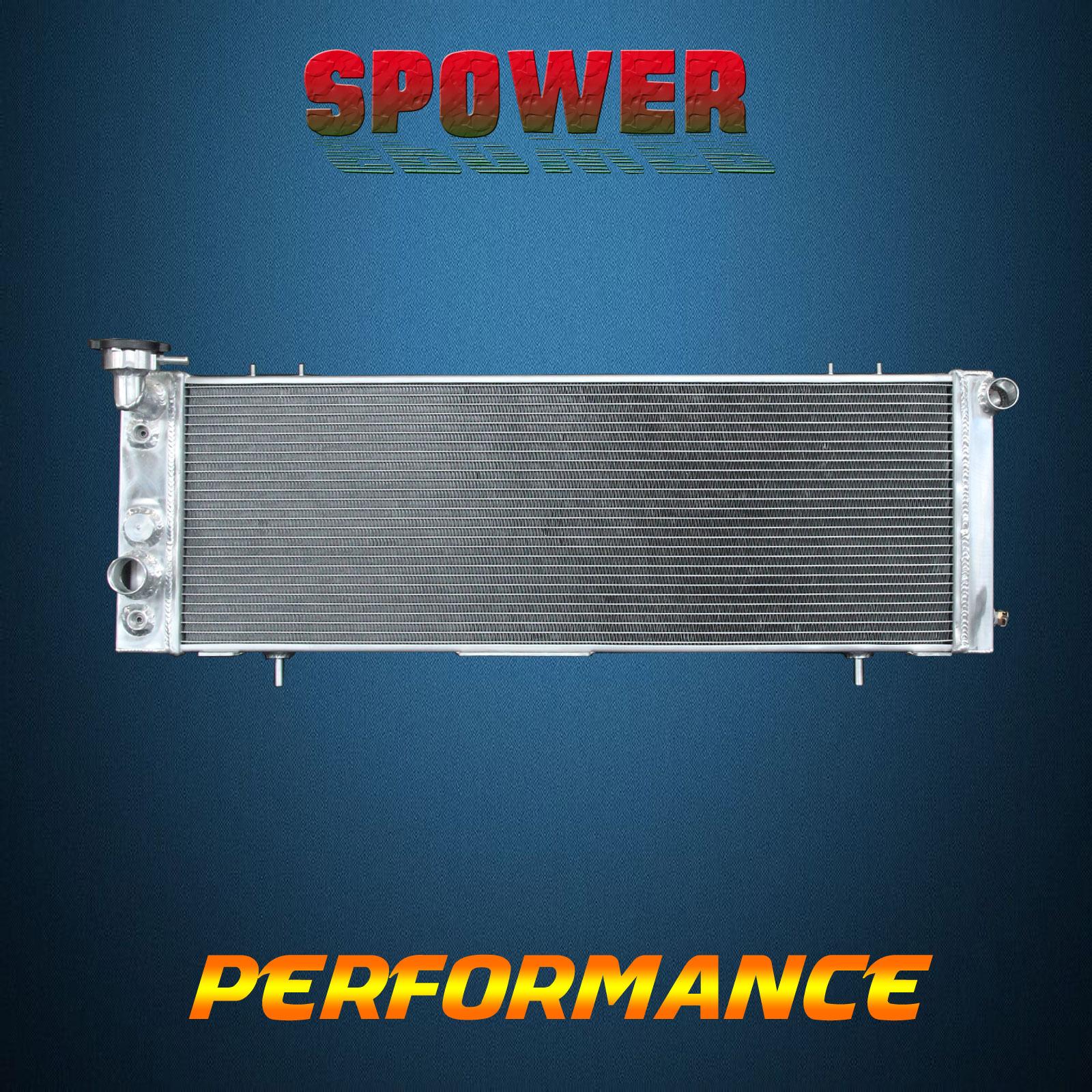 Aluminum Radiator CU1193 for Jeep 91-92 Comanche 1991-2001 Cherokee 2.5L 4.0L