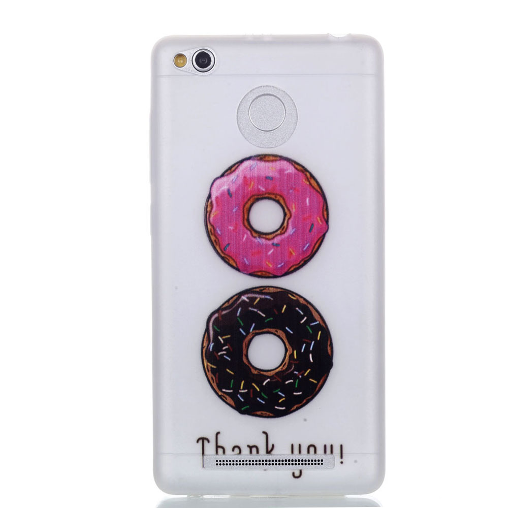 Fluorescence Gel TPU Soft Shell Back Painted Case Cover For Huawei Xiaomi Lenovo