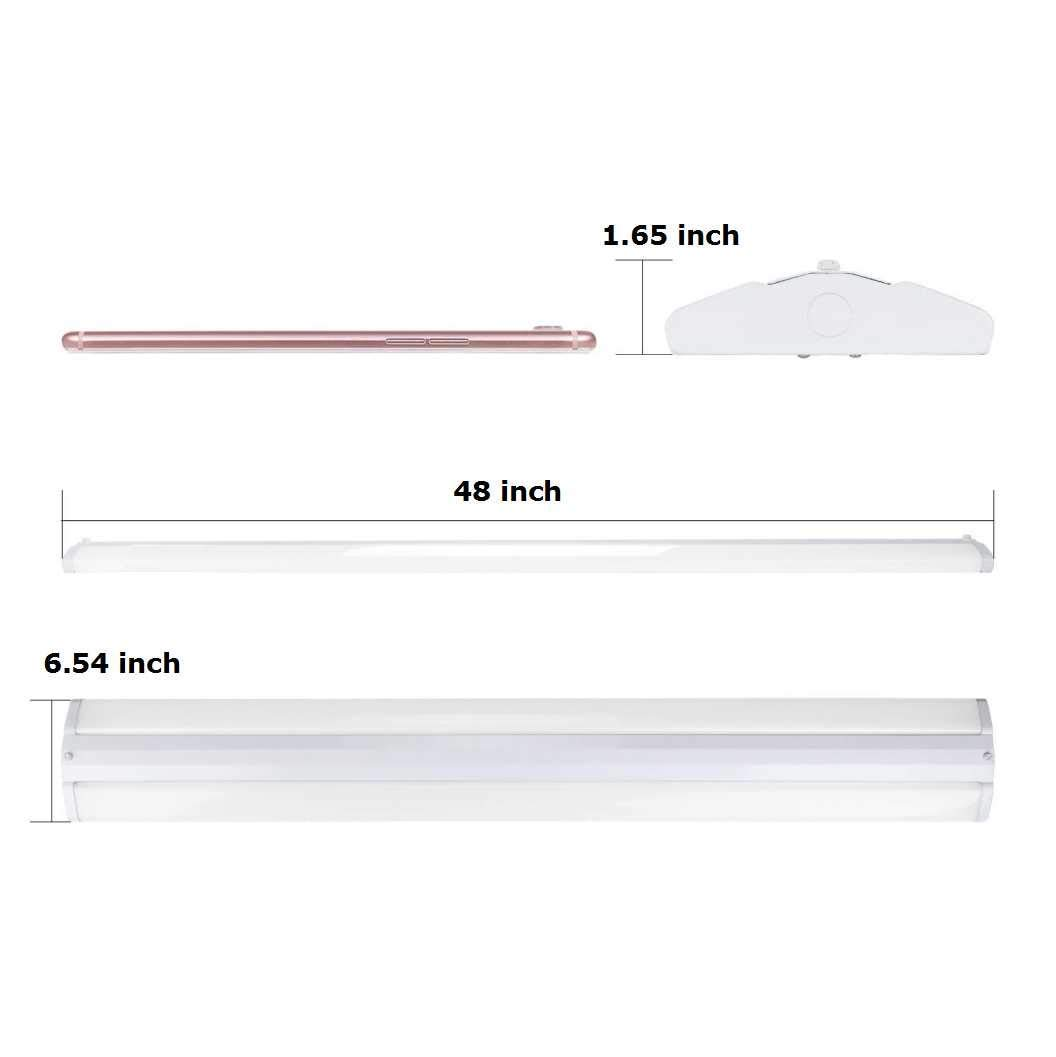AntLux 4FT LED Wraparound Light Fixture 50W Ultra Slim LED Shop Light for Garage  eBay