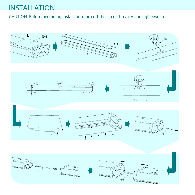 Shop Light Schematic - Wiring Schematics on