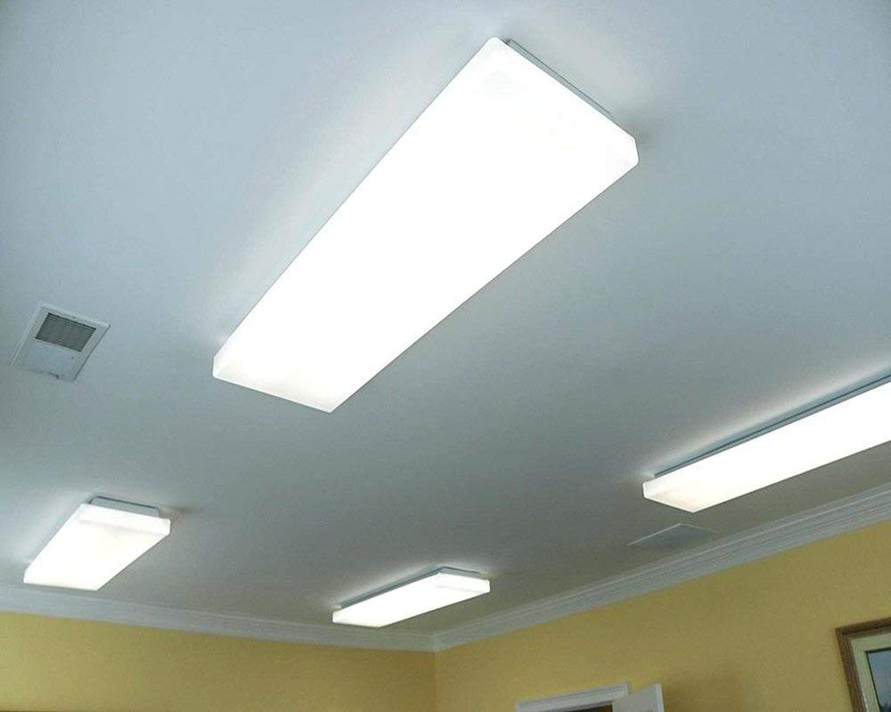 Details About Antlux 72w Led Office Lights Ceiling 4ft Wraparound Light 8600 Lumens 4000k