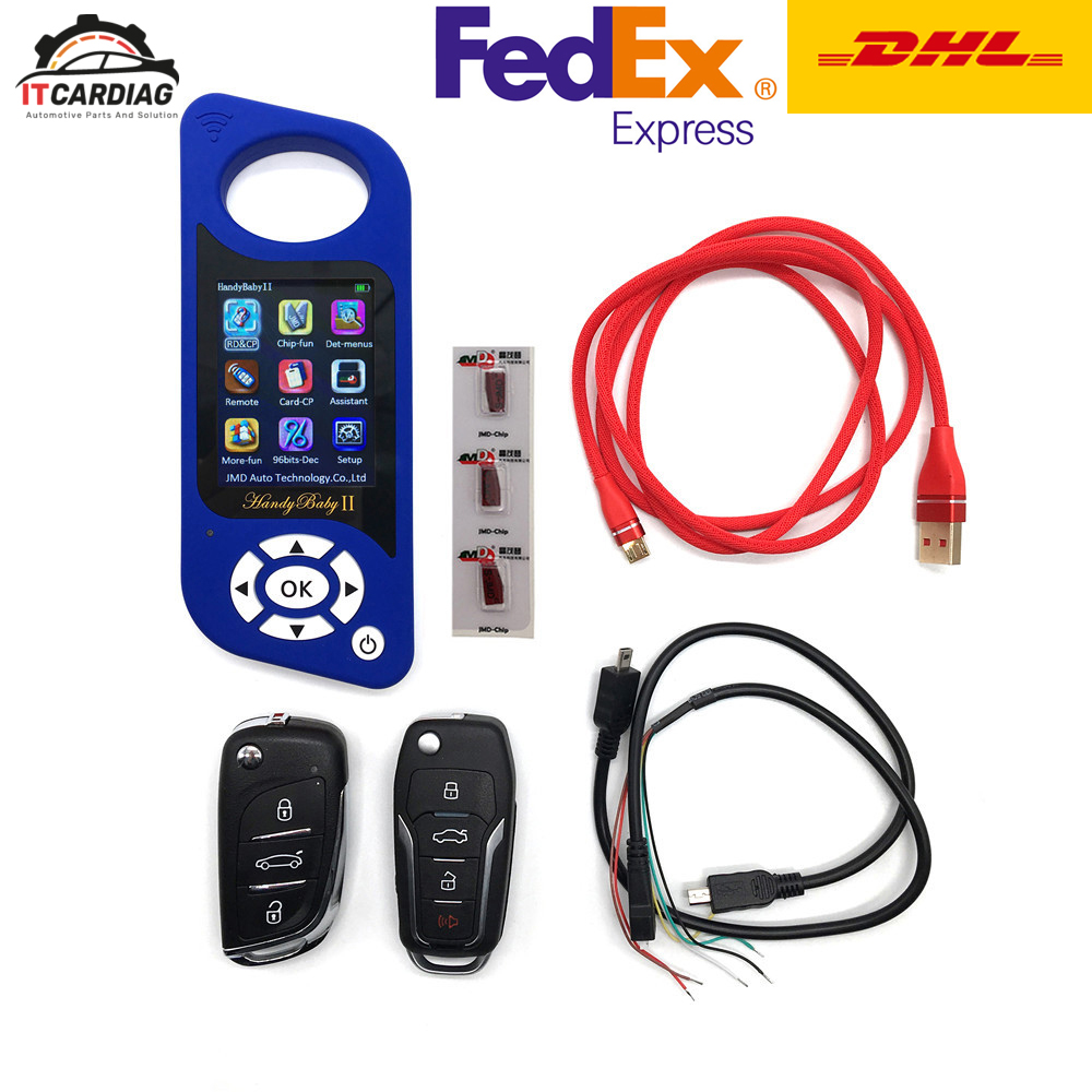 Details about JMD Handy Baby II Auto key programmer tool for 4D/46/48/G  Chip Handy Baby 2 -DHL