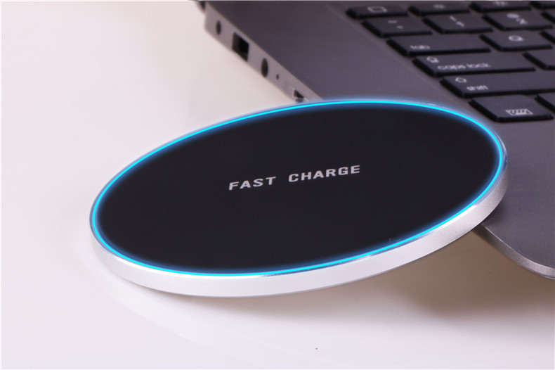 qi wireless charging pad schnellladeger t f r samsung note. Black Bedroom Furniture Sets. Home Design Ideas