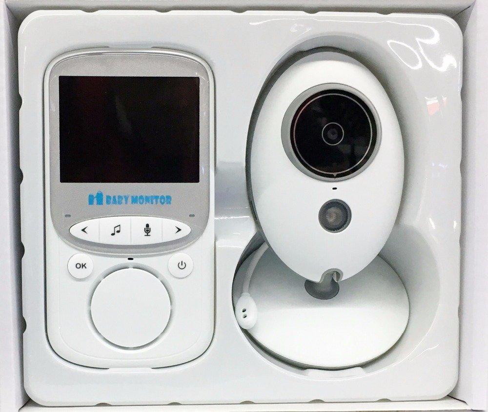 wireless funk babyphone babyfone baby monitor mit kamera babyviewer nachtsicht ebay. Black Bedroom Furniture Sets. Home Design Ideas
