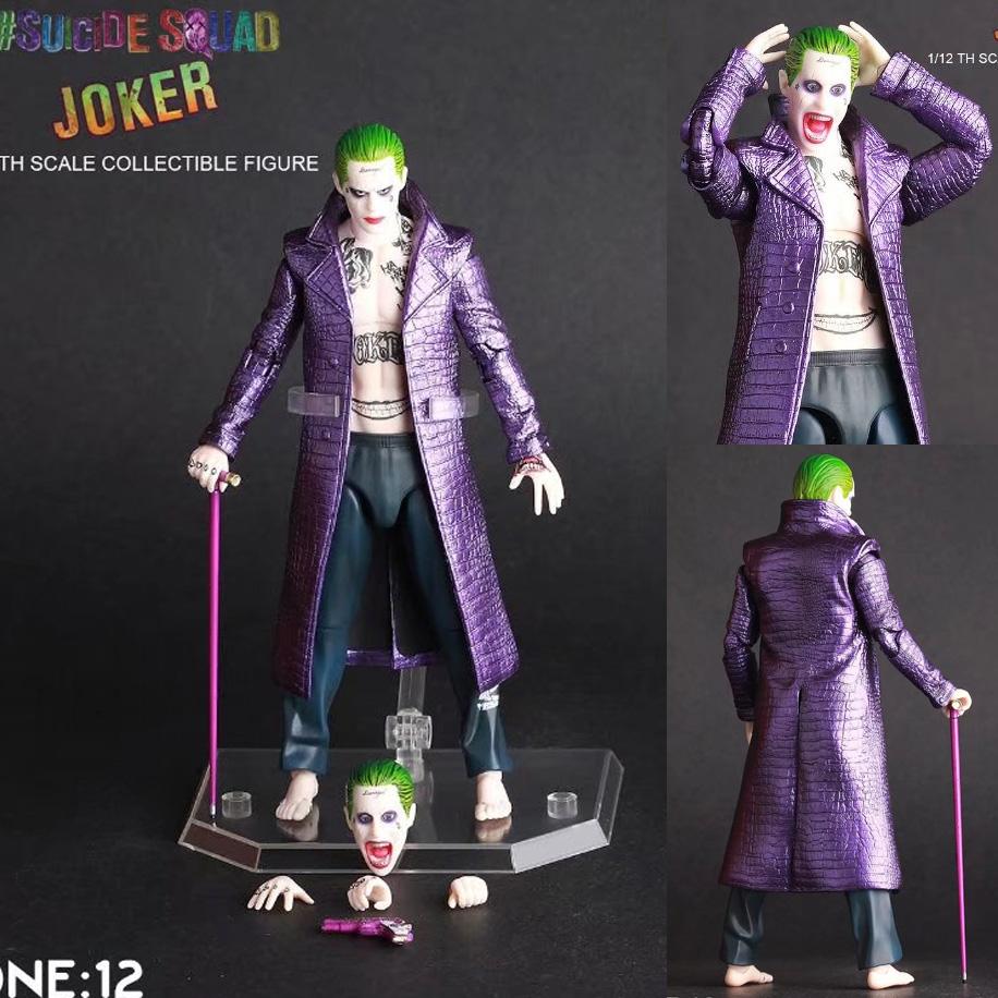 """Crazy Toys DC Suicide Squad The Joker Figure Toy 6/"""" 15cm"""