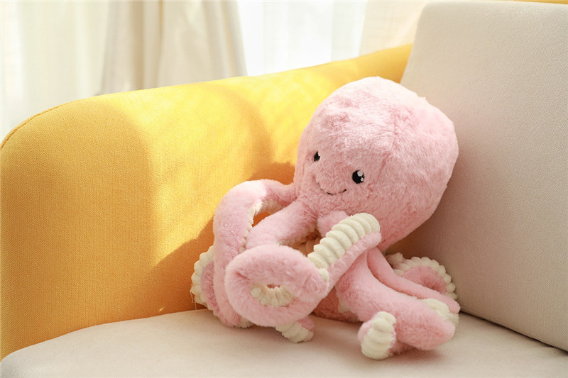 Cute  Animal Little Octopus Stuffed Doll Soft Baby Sleeping Comfort Plush Toy