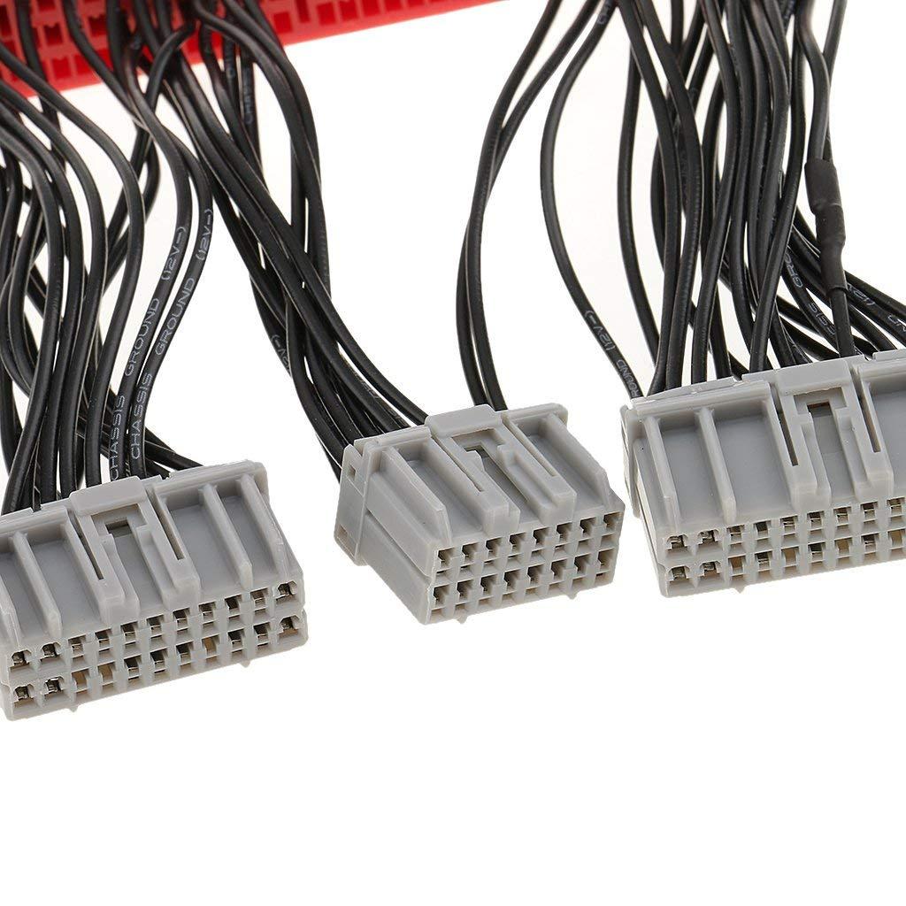 ECU Harness OBD2 A To OBD1 Jumper Conversion Wire For