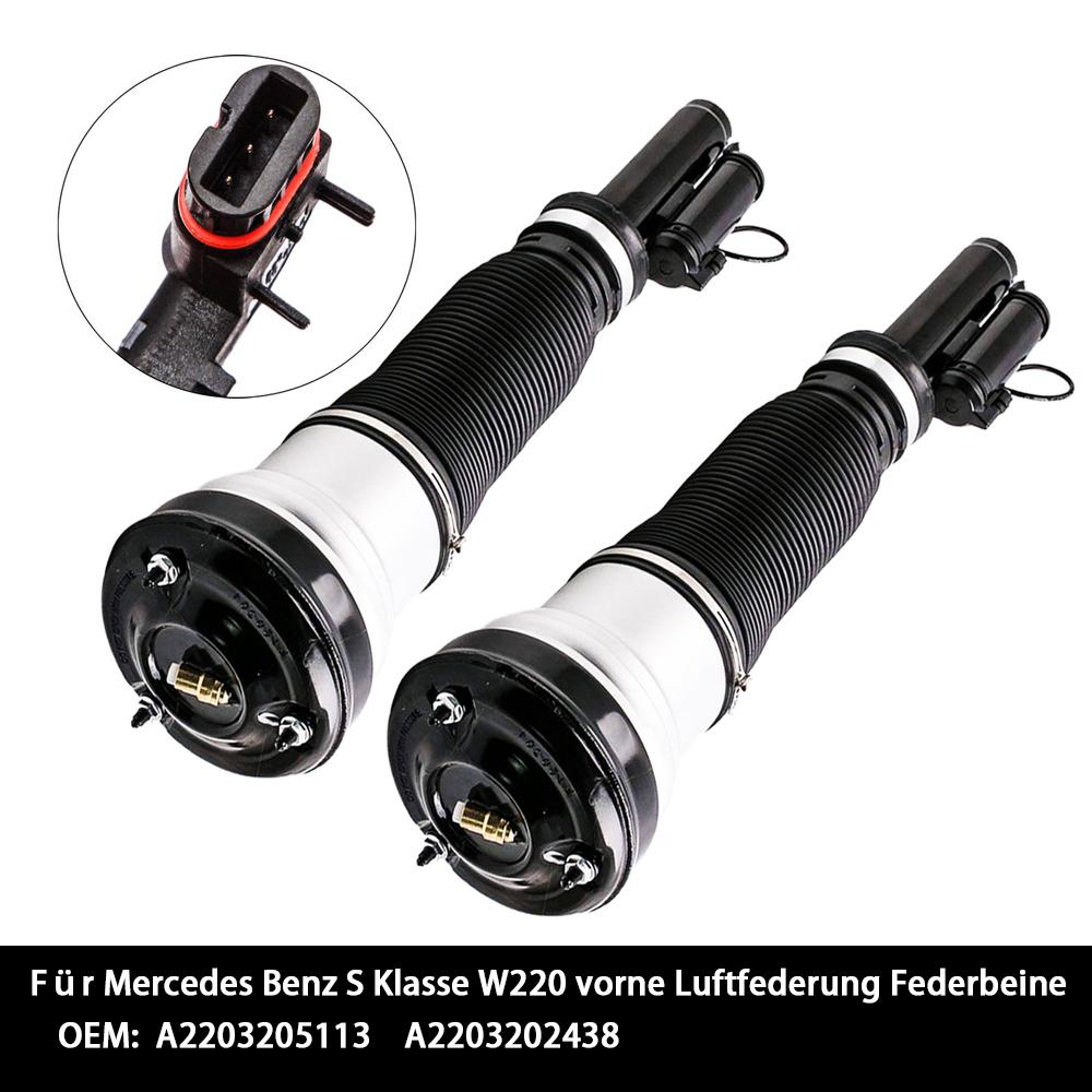 Vorne Federbein Luftfederung 2203202438 für Mercedes S Klasse W220