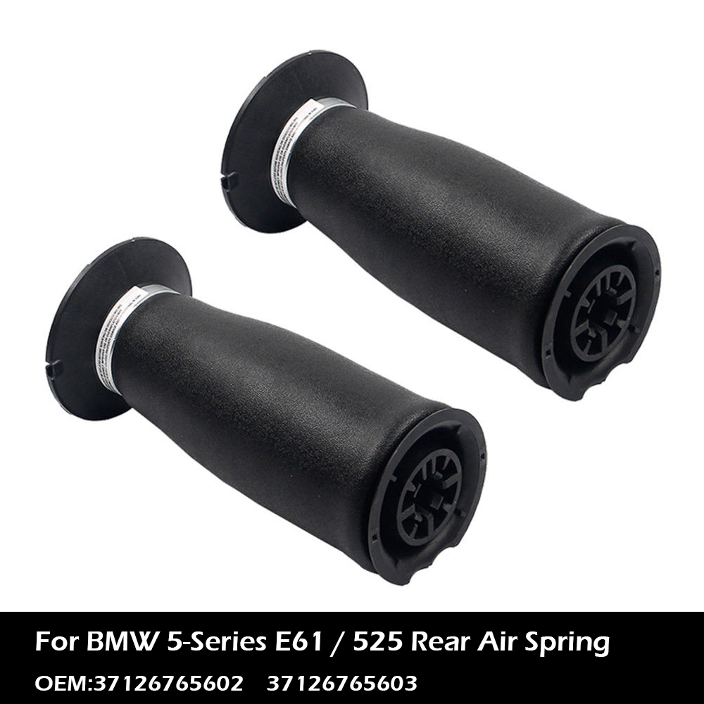 1 Pair For BMW E60 E61 5-series 03-10 Rear Air Suspension Spring Bag 37126765603