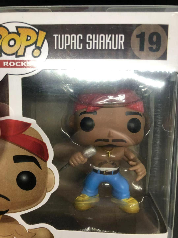 Shakur #19 Artion Figure Collection For Gift Rock Tu Pike Funko Pop