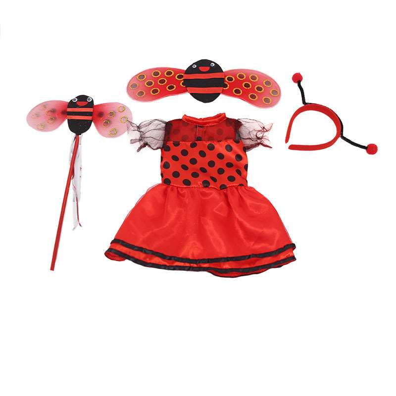 """Hot Handmade Accessories Fits 18/""""Inch American Girl Doll Bee Wings Dress"""