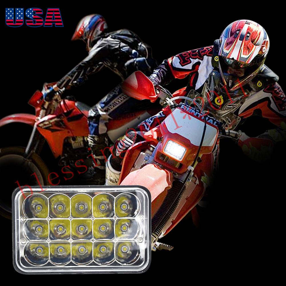 Details about Super bright LED Conversion Headlight Lamp For Honda  R250XR400 XR650 Suzuki DRZ