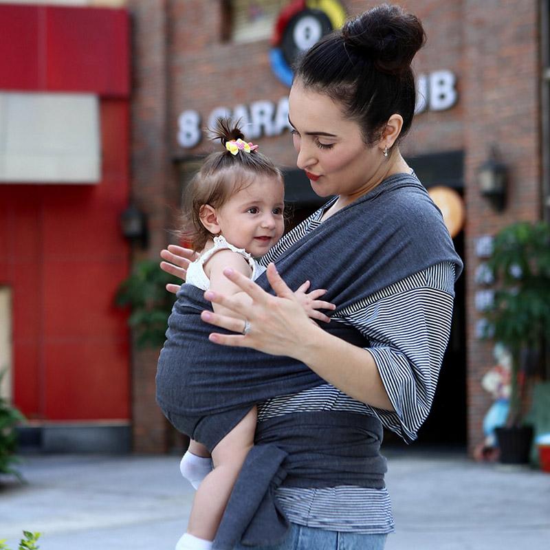 Baby Bauchtrage Baby Carrier 4011 Elastisches Tragetuch Babytragetuch Mija