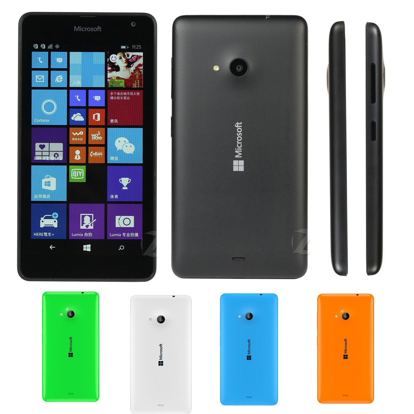 Microsoft lumia 535 dual sim white quad core 1 2ghz unlocked cell - Original New Nokia Microsoft Lumia 535 Dual Sim Unlocked 3g Windows Smartphone