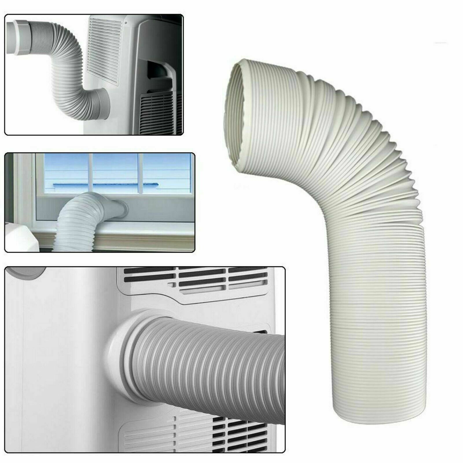 Details about Exhaust Hose 5 9 inch Diameter AC Unit Duct For Portable Air  Conditioner Parts