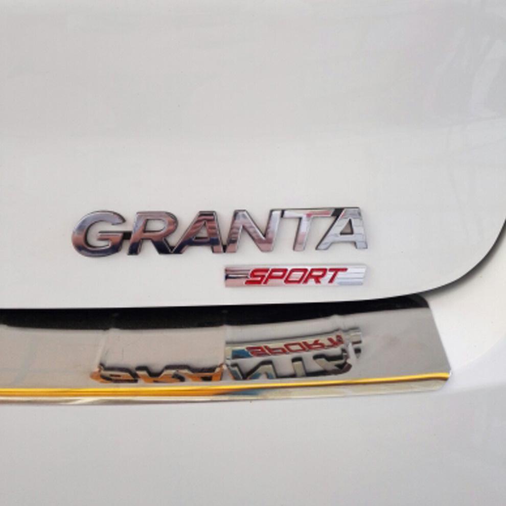 1pc 3D Metal Black Red Sports Auto Car Sticker Sport Emblem Fender Truck Badge