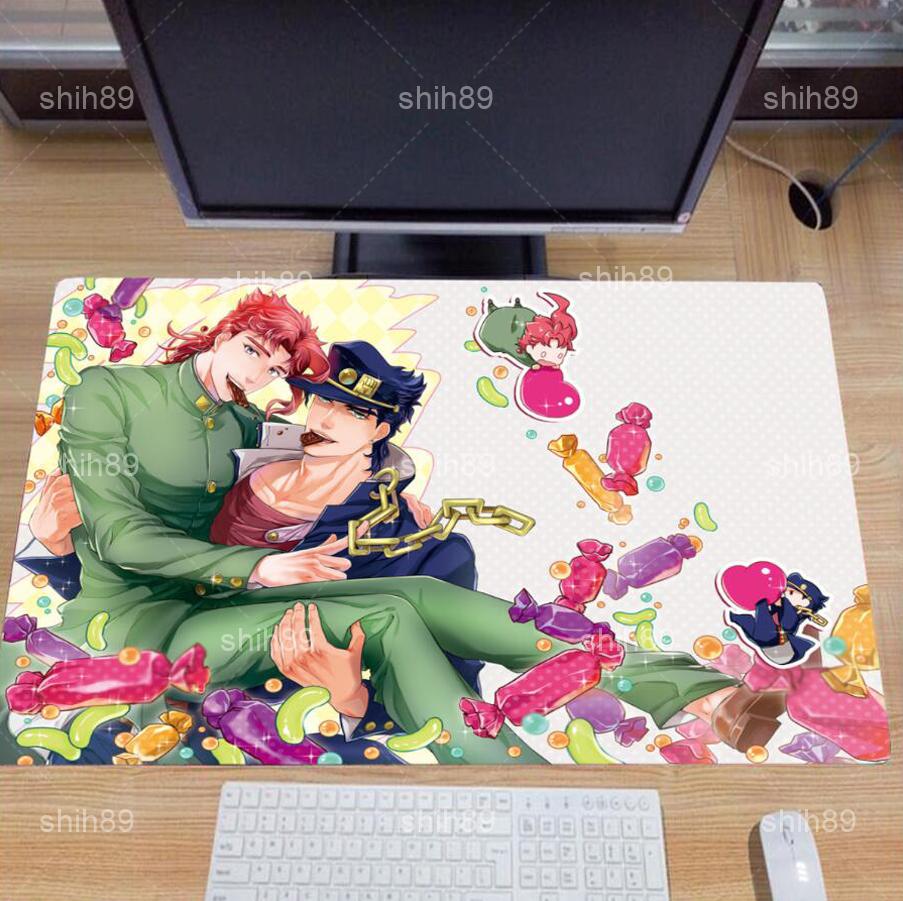 Anime JoJo/'s Bizarre Adventure Kujo Jotaro Mat Mousepad Pad Play 40*70cm