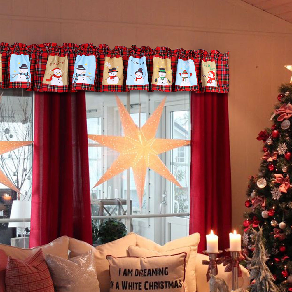 """Image result for photos of  CHRISTMAS  CURTAINS IN HOME"""""""