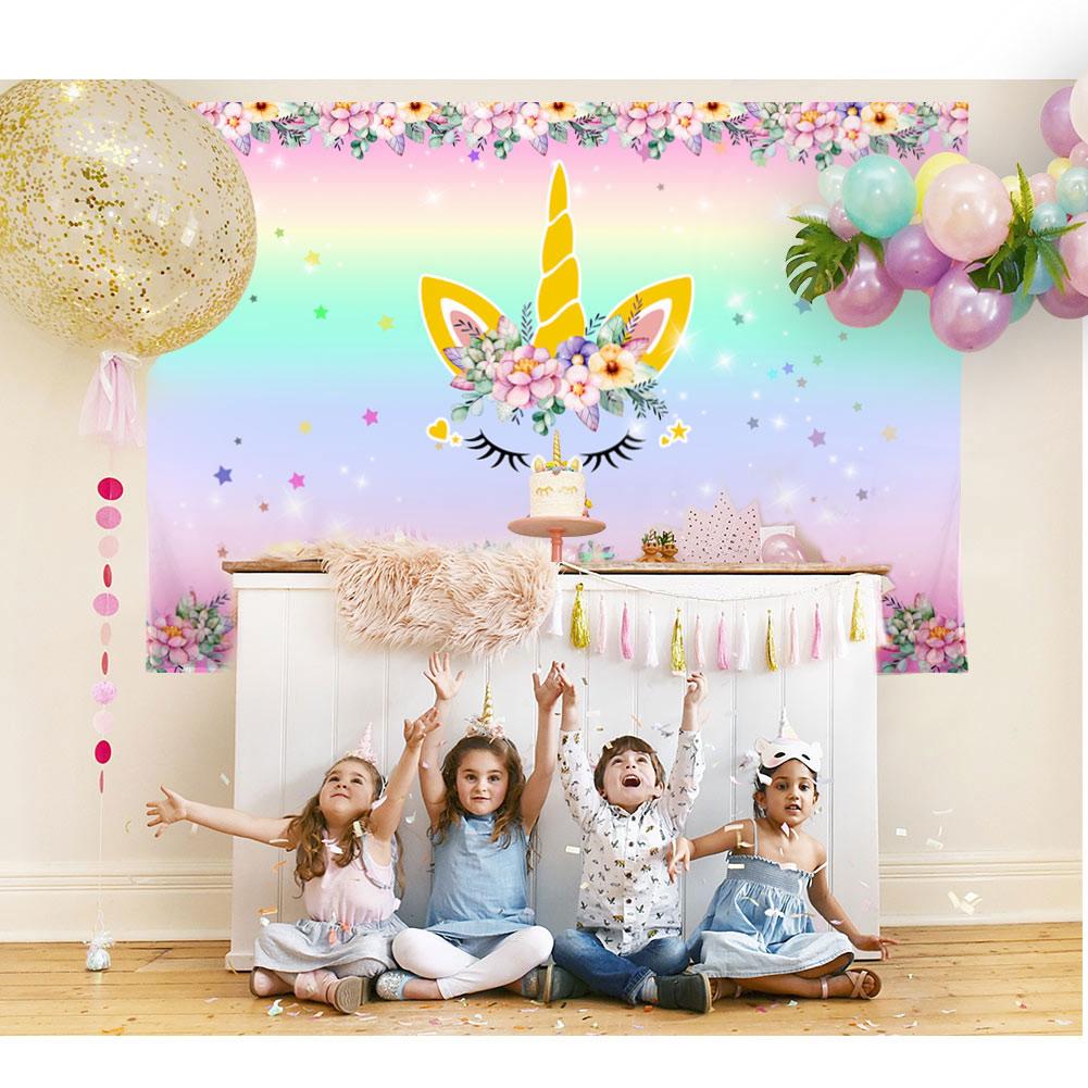 Birthday Party Photography Jakarta: Magical Unicorn Theme Photography Backdrop Studio Props