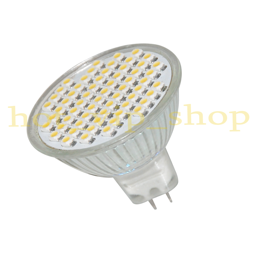 SMD Lamp 160Lm LED Bulb 4W 3528 MR16 60 Light Details about Spotlight warm white 2 Glass 12V 8n0OPwkX