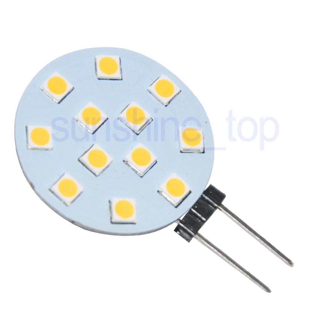 4x-G4-12-SMD-3030-LED-Lampe-Birne-Spot-Licht-Leuchte-warmweiss-450LM-12-24V-3-5W Indexbild 3