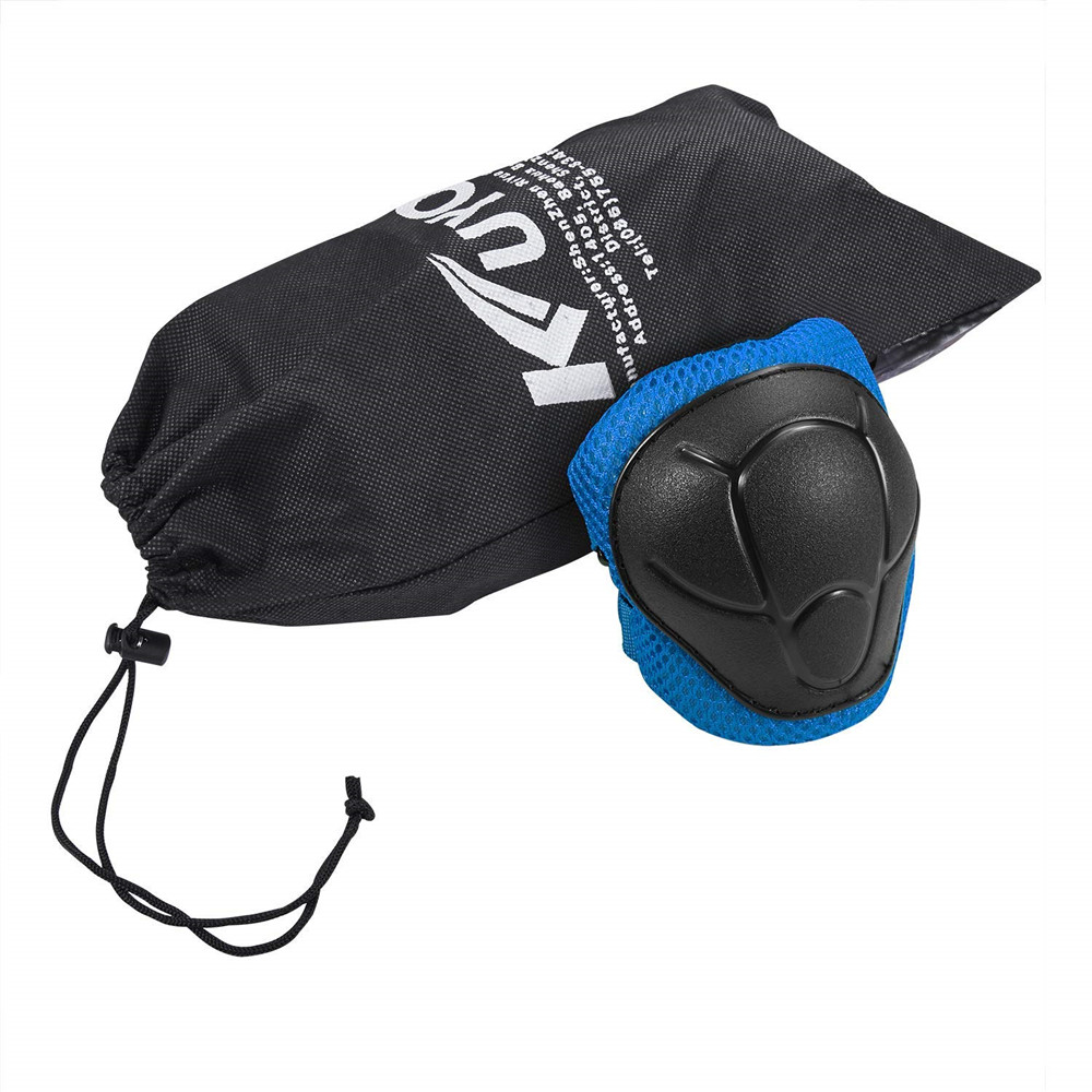 Child Kids Protective Gear Set Knee And Elbow Pads With Wrist Guards