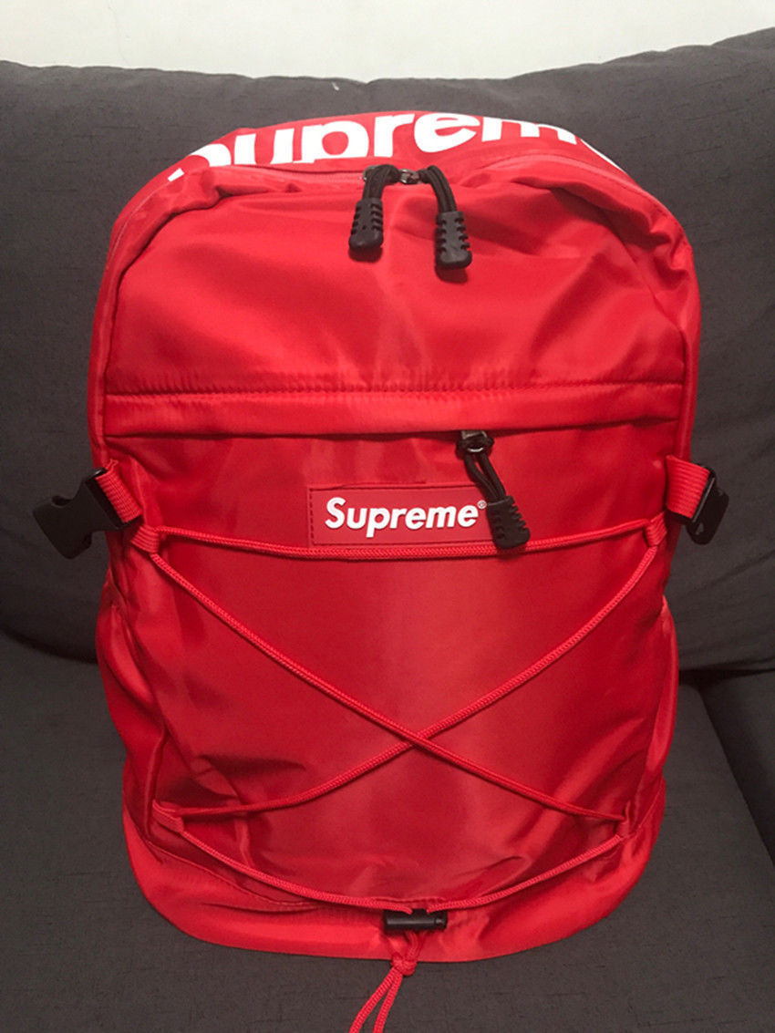 New Hot Supreme Backpack Unisex High Quality Waterproof Laptop School Bag | eBay