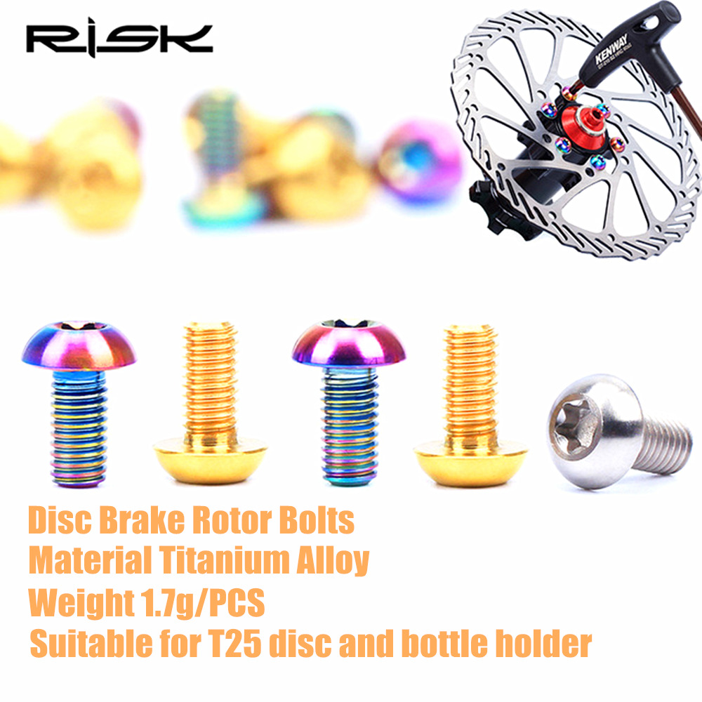 Screw Disc Brake Rotor Bolts Steel Alloy Part 12PCS MTB Bicycle High quality