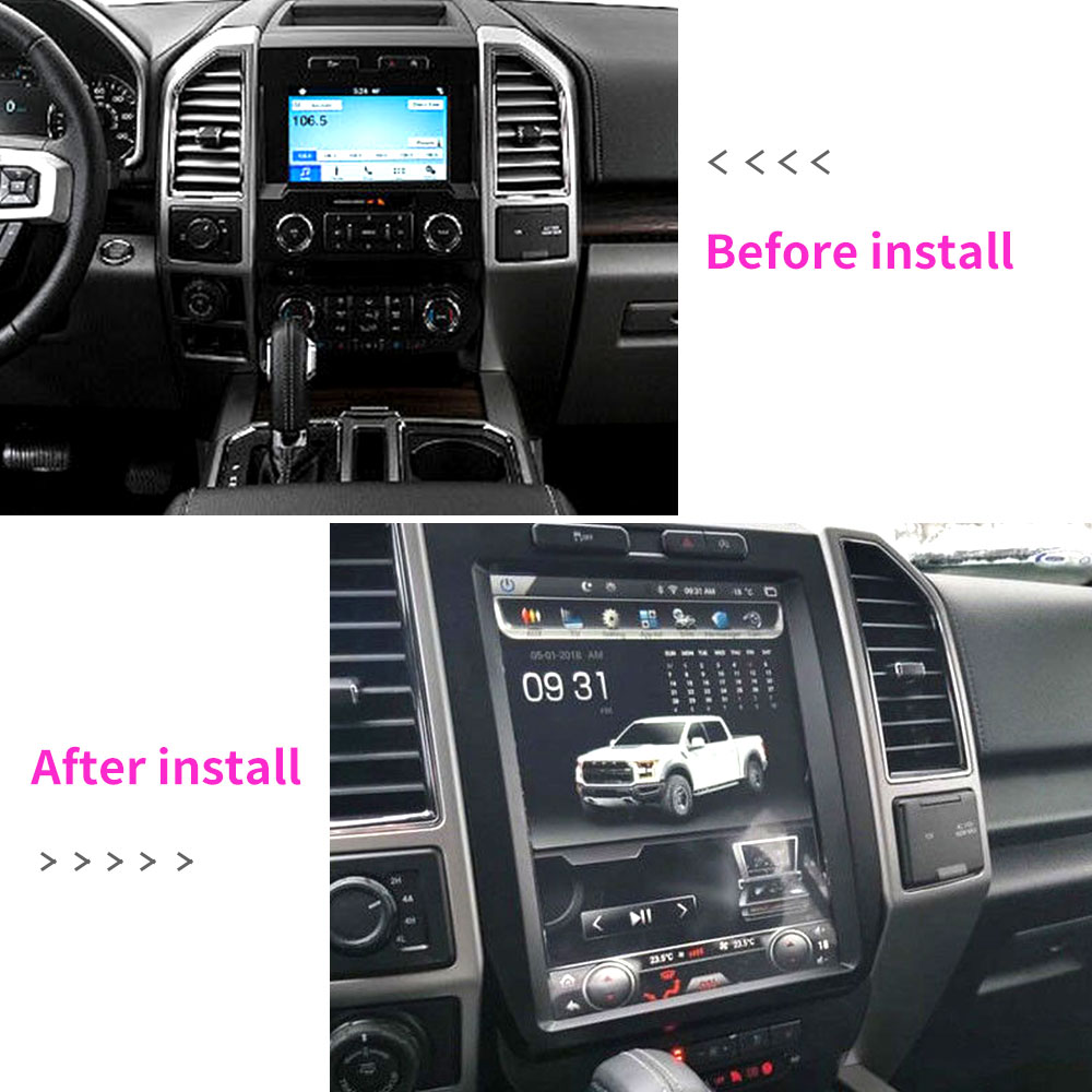 121android 60 Gps Navigation Stereo 32gb For Ford F150 F 150 Xl 2015 Radio Xlt 2017