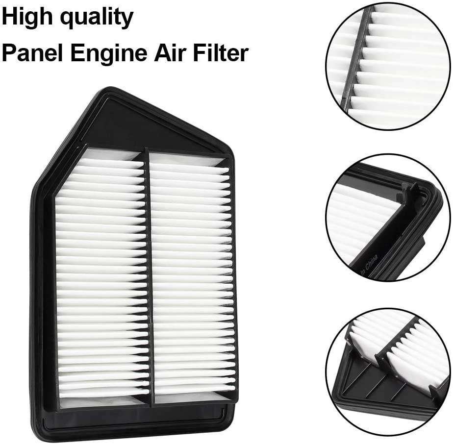 WISAMIC Engine Air Filter Replacement For Honda WM476
