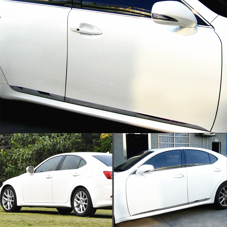 SUS304 Stainless Steel Door Trim Body Cover Lower For LEXUS IS 250  2006-2012