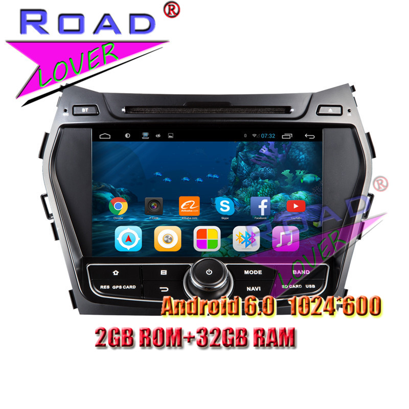 Android 7 1 Car PC DVD GPS Navi Audio For Hyundai IX45/Santa