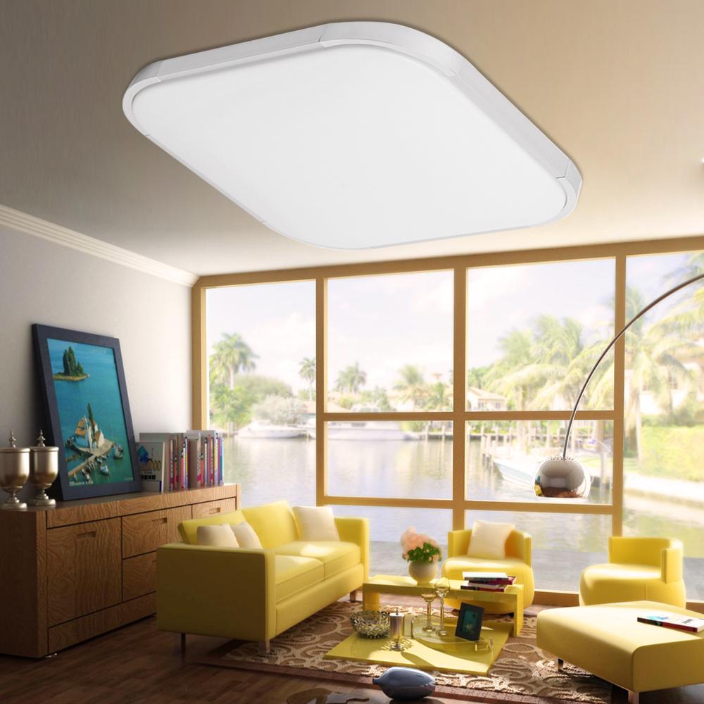 28W LED Deckenleuchte Küchen Flur Decken Lampe Bad Wohnzimmer LED ...