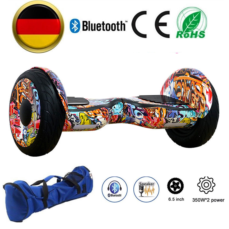 10 zoll bunt hoverboard bluetooth elektro scooter samsung akku skateboard ebay. Black Bedroom Furniture Sets. Home Design Ideas