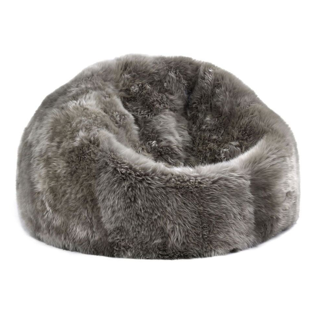 Details About Luxury Faux Fur Bean Bag Chairs For Kids S Fluffy Sheepskin Beanbag Cover