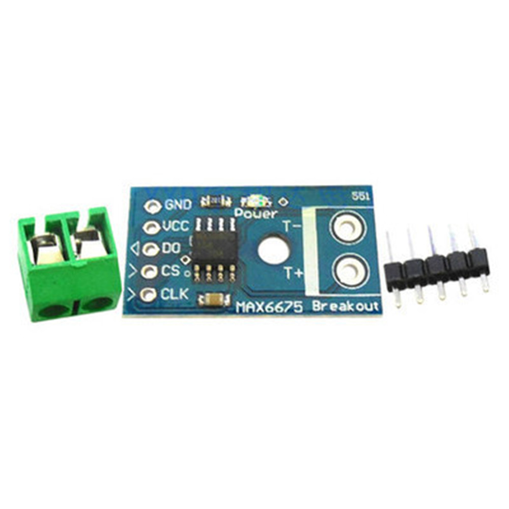 Details about MAX6675 Type K Thermocouple Temperature Sensor Module SPI  Interface for Arduino