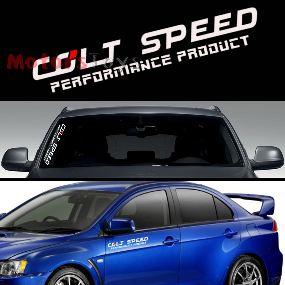COLT SPEED PERFORMANCE PRODUCT Car Body Or Window Vinyl Car - Colts custom vinyl decals for car