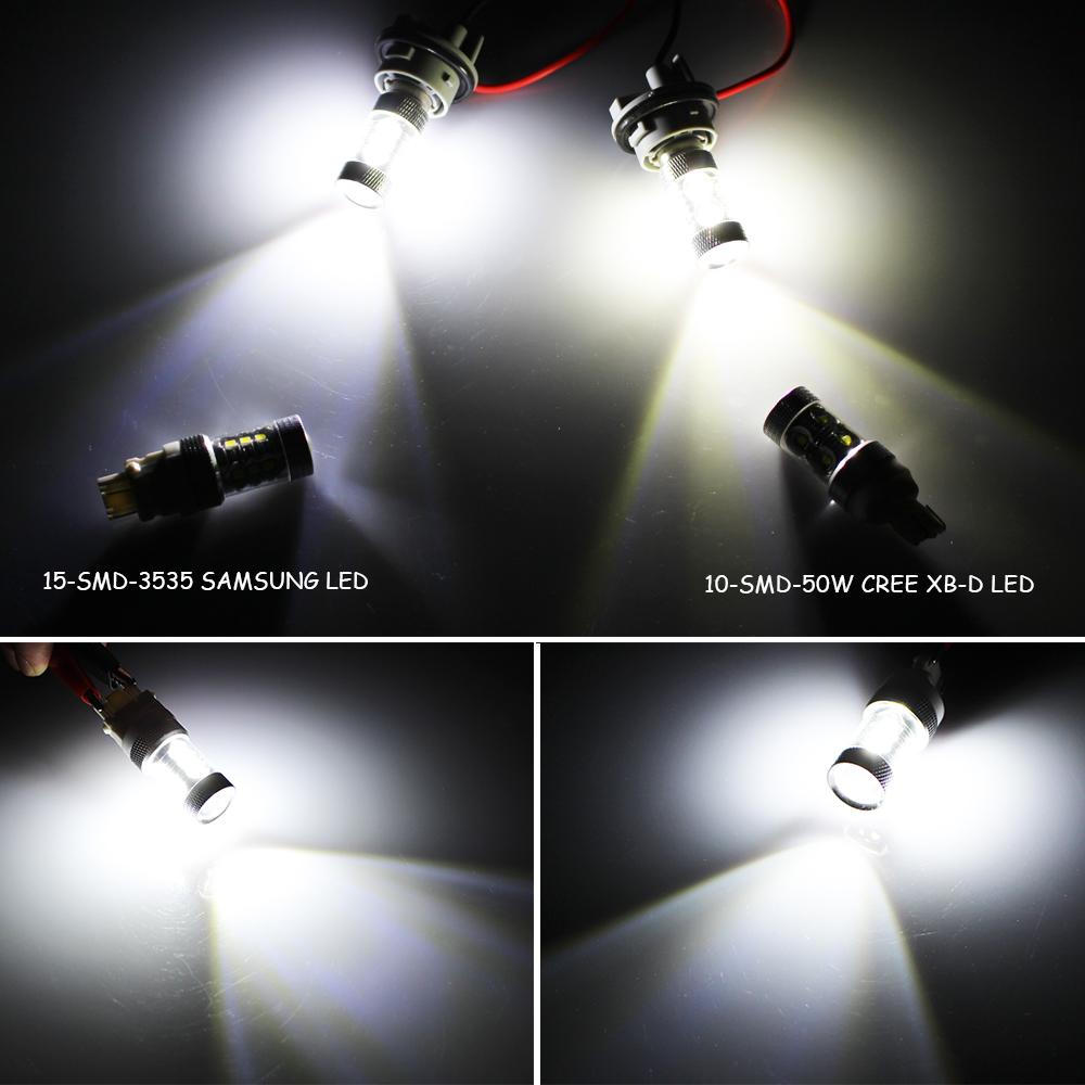 2005 2009 ford mustang 2x hid white 921 led reverse light bulb backup - White High Power 3535 Smd Led Backup Reverse Light Bulb For 15 Up Ford Mustang