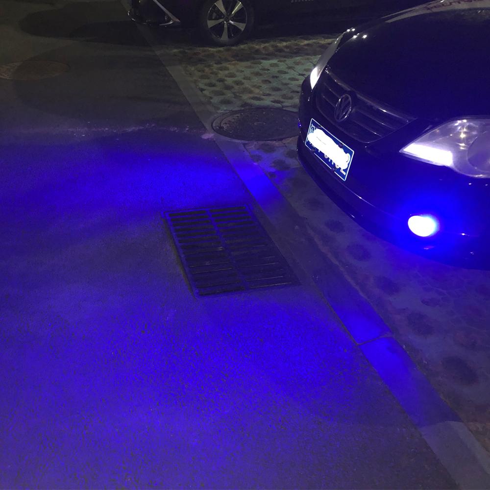 2pcs Ultra Blue 30-SMD High Power H3 LED Bulbs For Fog DRL Daytime Lights