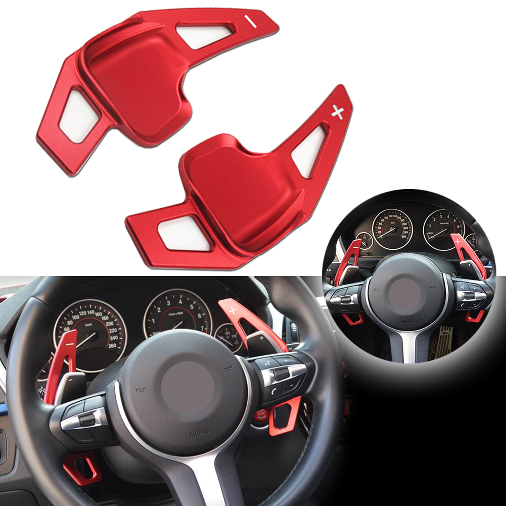 Steering Wheel Extension Gear Shift Paddle Shifter For BMW  2 3 4 5 6 Series X1