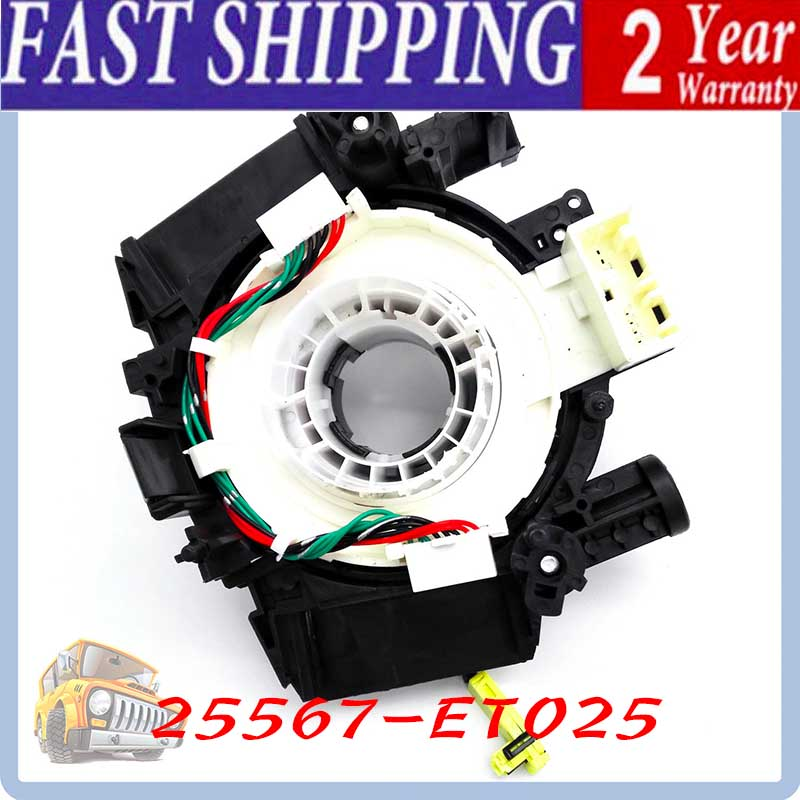 New Air Bag Spiral Cable Clock Spring for Nissan Qashqai 350Z 370Z Versa Murano