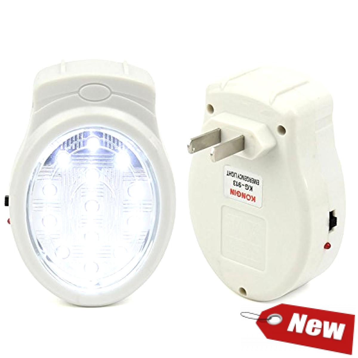 Led Rechargeable Home Emergency Automatic Power Failure Outage Light Lamp Us Eu