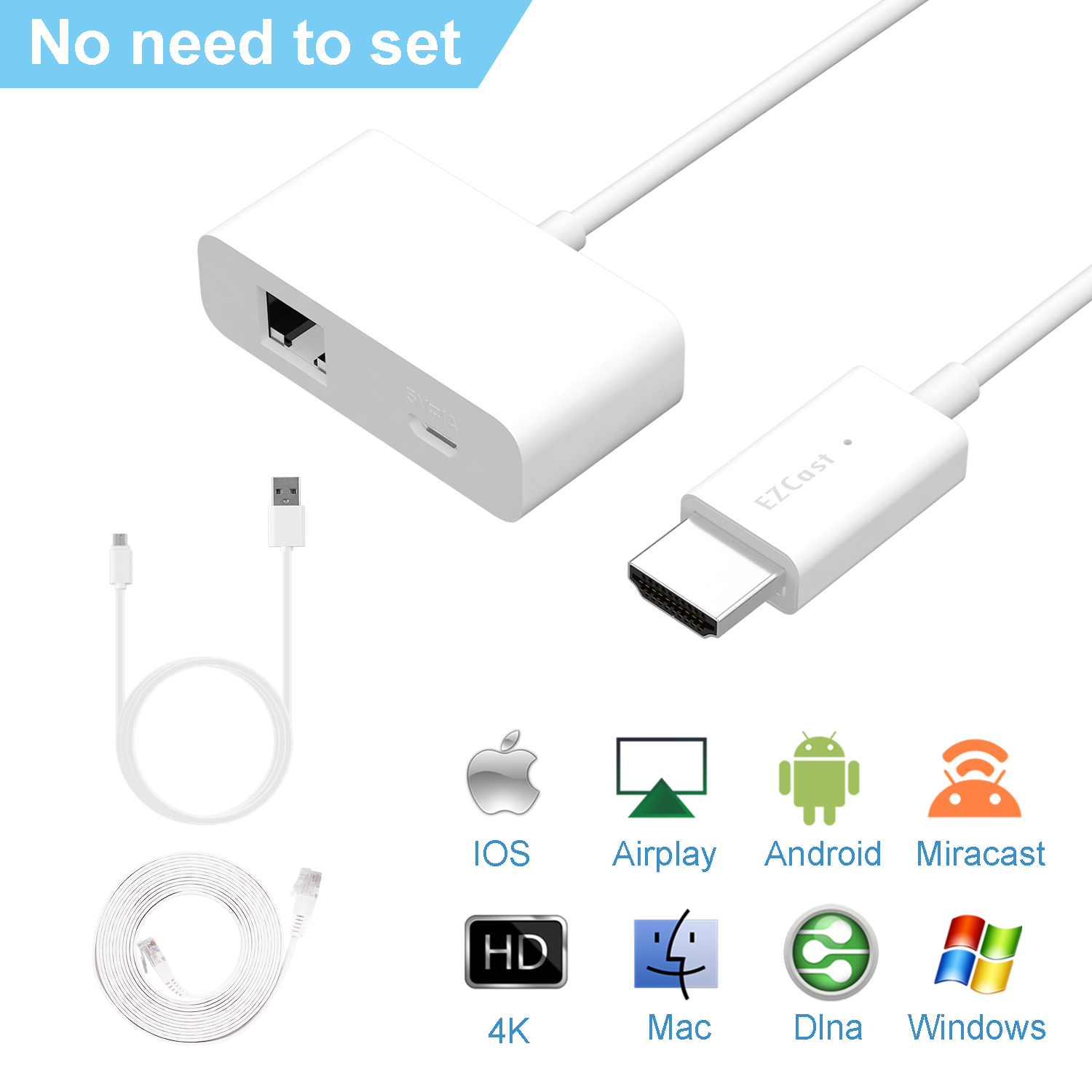 Details about HD1080P Wireless WIFI Display Dongle Adapter HDMI Miracast  DLNA AirPlay TV Stick