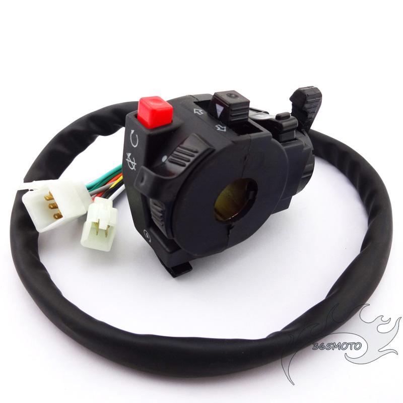 Atv 13 Wire Handle Switch Choke Lever For 110 125 150 200 250 Cc Taotao Roketa