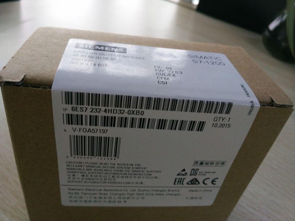 1PC New In Box Siemens 6ES7 232-4HD32-0XB0 6ES7232-4HD32-0XB0