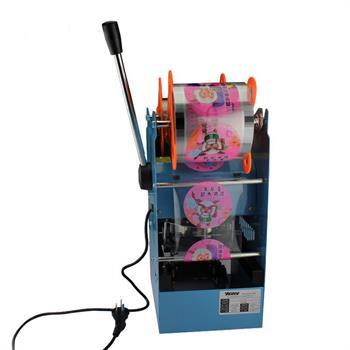 CE 270W 220V Electric Automatic Plastic Drink Tea Cups Sealer Sealing Machine